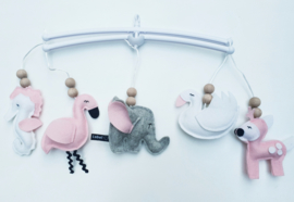 Muziekmobiel olifantje