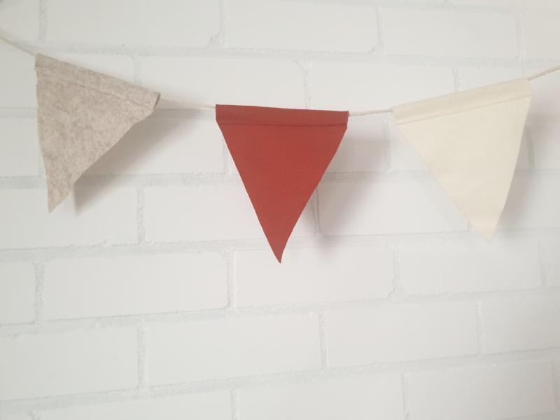 Vlaggenlijn 7 vlaggetjes