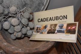 Cadeaubon by Suus