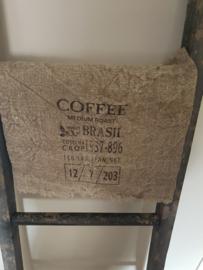 Shabby doek Coffee