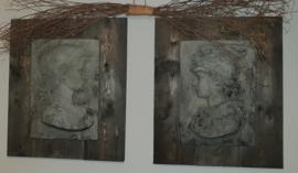 Set Scipioni steigerhout
