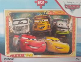 Cars puzzel 63 stukjes