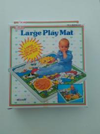 Grote speel mat 90x90 plastic