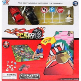 Dc Car Set 1:64 9 Dlg.