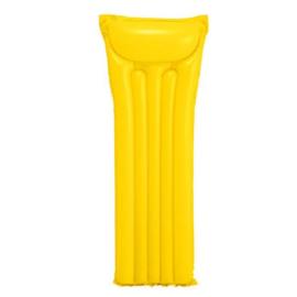 Intex Opblaas waterbed geel 183 x 69 cm