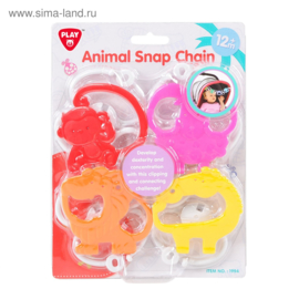 Playgo Animal Snap Chain