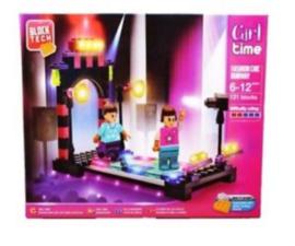 Lego steentjes meisjes Block Tech