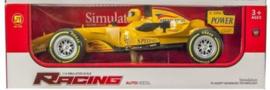 Race auto 1:14 met licht en geluid 12x37cm