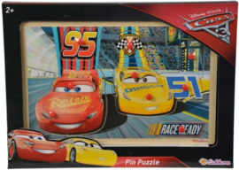 Cars 3 houten Noppen puzzel