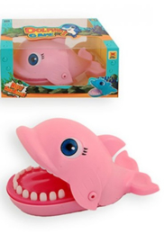 Spel biting dolfijn Roze
