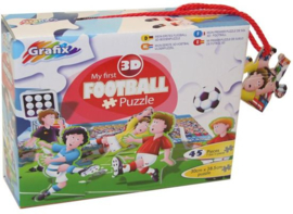 3D puzzels voetbal  45 puzzelstukjes