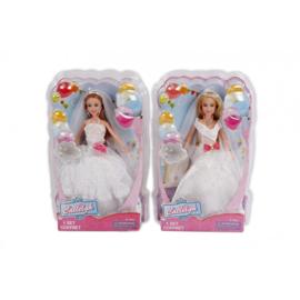 Barbie gaat trouwen grote jurk ( wordt assorti geleverd)
