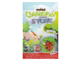 Mini Garden Stepping Stone - with 3 paints/brush