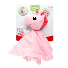 LITTLE STARS Babyknuffeldoek met rammelaar 'Unicorn' +