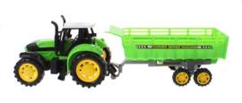 Tractor Met Aanhanger Groen