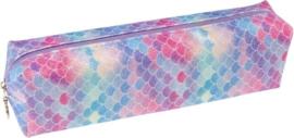 Glitter Etui zeemeermin 19 Cm