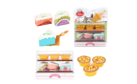 FOOD MARKET Set met gebak en taartschep