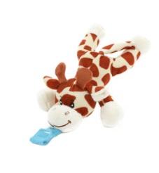 LITTLE STARS Speenknuffel -pluchen Giraffe