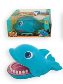 Spel biting dolfijn Blauw