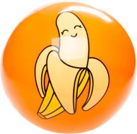 Bal Kawaii Junior 23 Cm Pvc Oranje Banaan