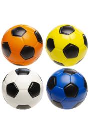Voetbal Geel, Blauw, wit of oranje