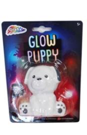 Gloeiend nachtlampje puppy