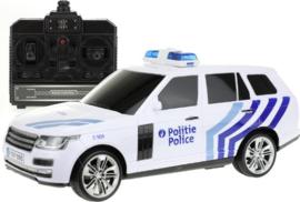 Politieauto RC Belgie met licht en geluid.