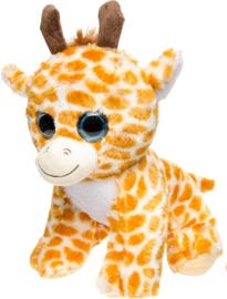 Knuffel Giraffe Stippen Bruin 23 Cm