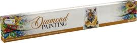 Diamond Painting Baby Tijger 30x30 cm