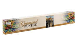 Diamond painting | liggend luipaard | Afmeting: 40 x 50 CM RM