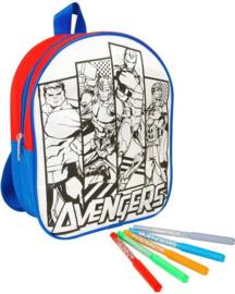 Kleur je eigen Avengers rugzak