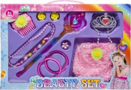 Accessoiresset Jewelry & Beaty Prinses 11-delig