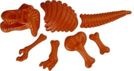 Zandvormen Dinosaurus 7-delig Oranje