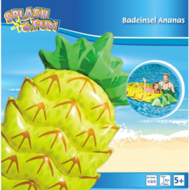 Opblaasbare Ananas luchtbed 154cm