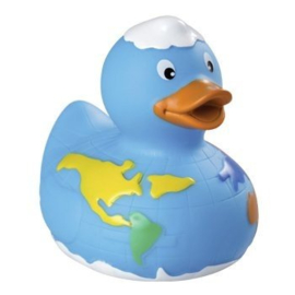 Badeend wereld