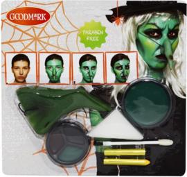 Heksenmake-up kit voor volwassenen Halloween - Schmink