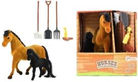 Paarden Met Accessoires