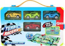 Speelset Auto's Junior 6-delig