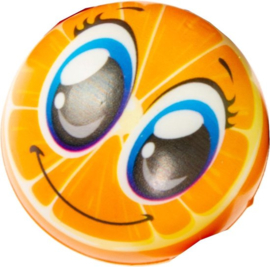Anti-stressbal Sinaasappel Junior 6,5 Cm Foam Oranje