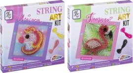 String Art   Knutselpakket voor kinderen   Unicorn of Flamingo