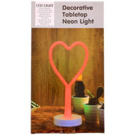 Neon figuurlamp Hart