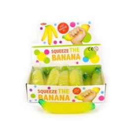 Squeeze banaan 18 cm