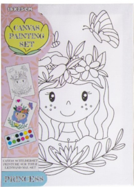 Maak je eigen prinses schilderij (L)