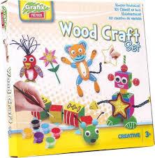 Grafix knutselset hout