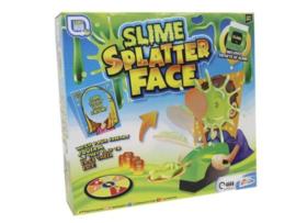 Slime spetter gezicht