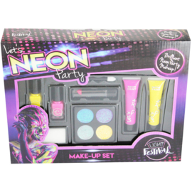 Neon Make-Upset Roze/Geel