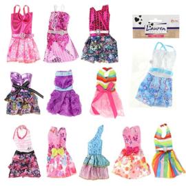 LAUREN Tienerpop barbie feestjurkjes 12 stuks