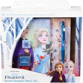 Frozen dagboek met stempels