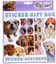 Stickerdoos 80-delig hondjes