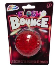 Glow bouncing/flashing  Spikey bal